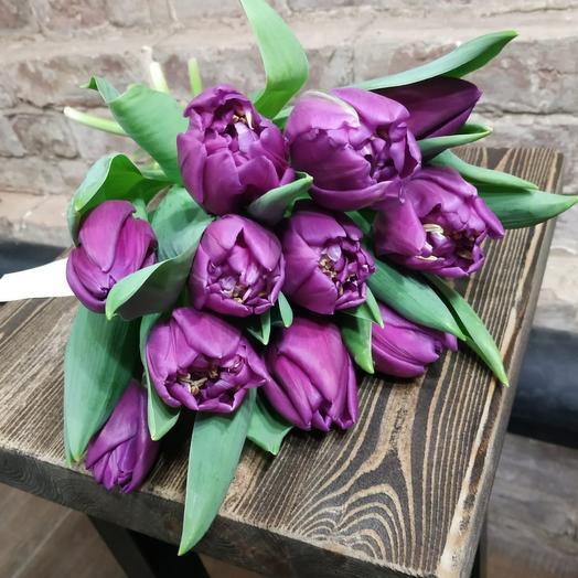 Тюльпан 11шт Purple