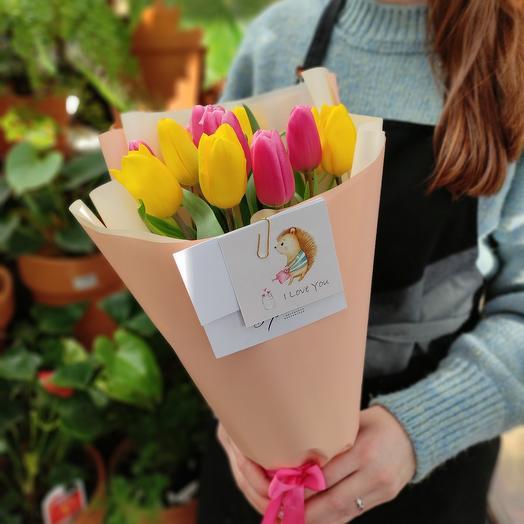 Элитные тюльпаны. Весенний микс