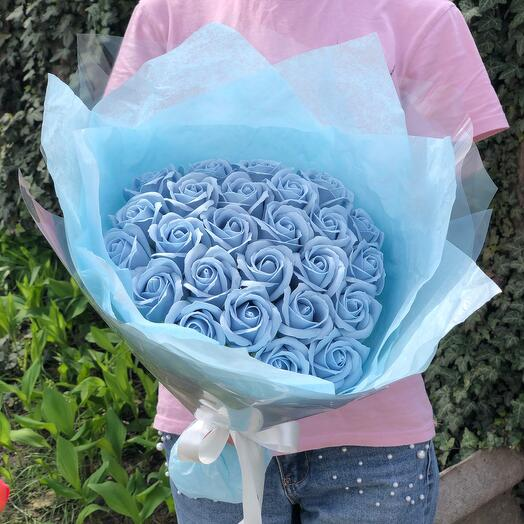 Bouquet of soap roses 😍