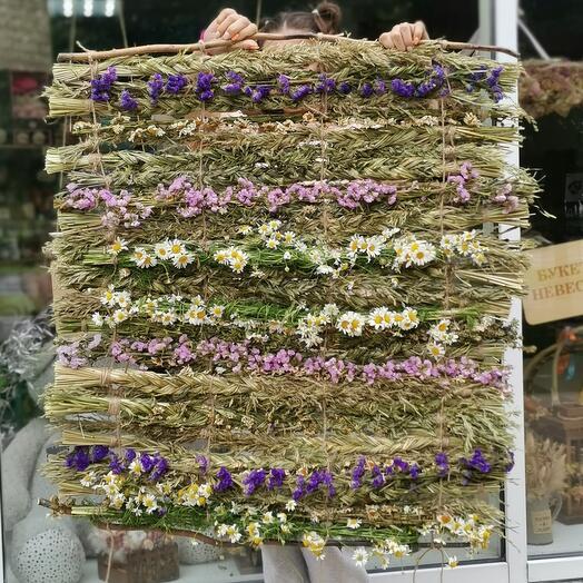 Ароматный ковёр из трав