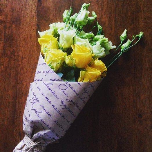 Чувственный букет: букеты цветов на заказ Flowwow