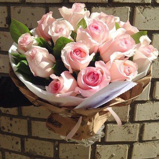 Букет 15 роз: букеты цветов на заказ Flowwow