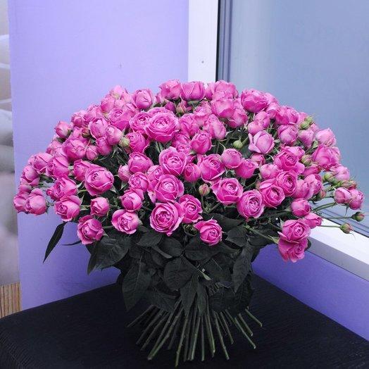 51 Кустовая Пионовидная Роза