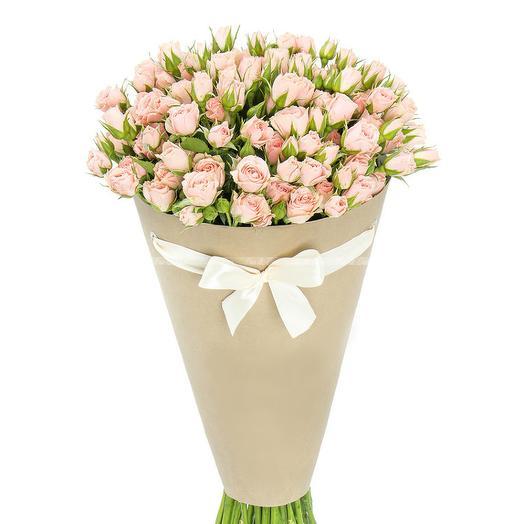 Кулёк кустовых роз