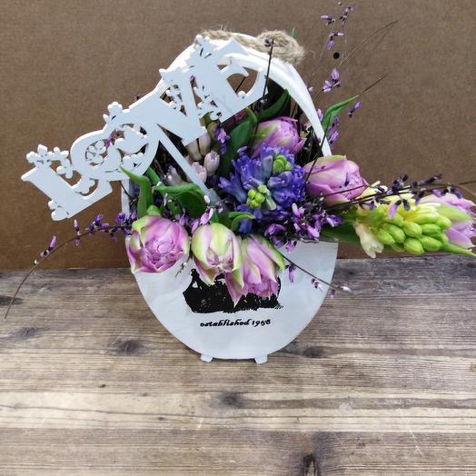 Чистая любовь: букеты цветов на заказ Flowwow