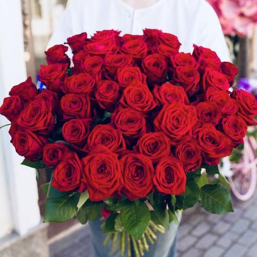 Red 51 (60 см, Red Naomi): букеты цветов на заказ Flowwow