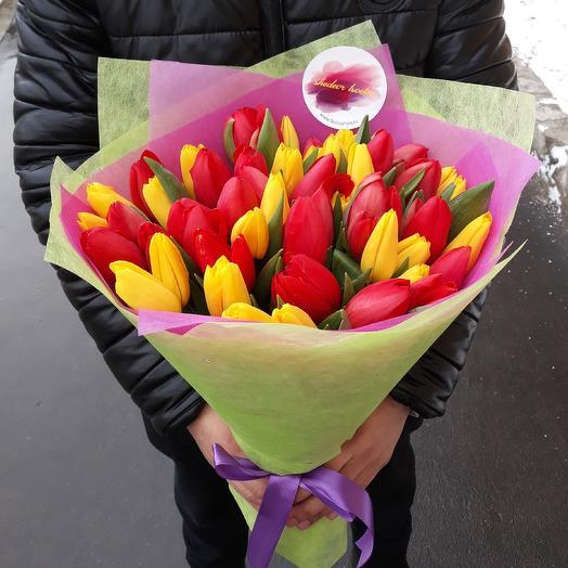 Разноцвет: букеты цветов на заказ Flowwow