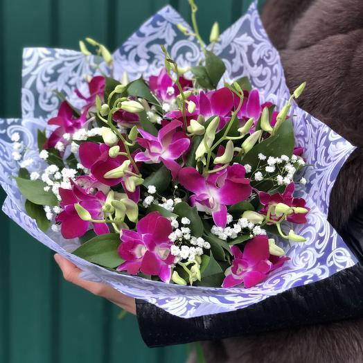 Дикая орхидея: букеты цветов на заказ Flowwow