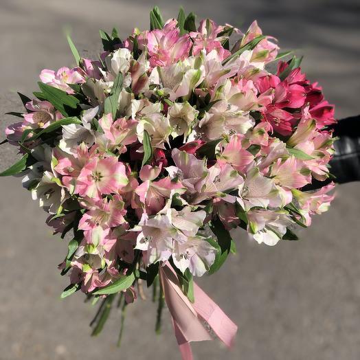 «Альстромерия»: букеты цветов на заказ Flowwow