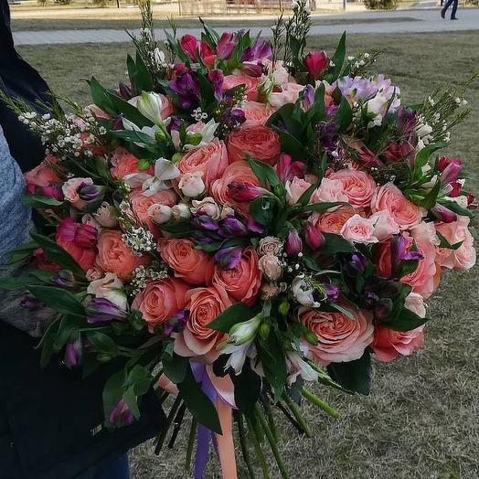 Лазурное  небо: букеты цветов на заказ Flowwow