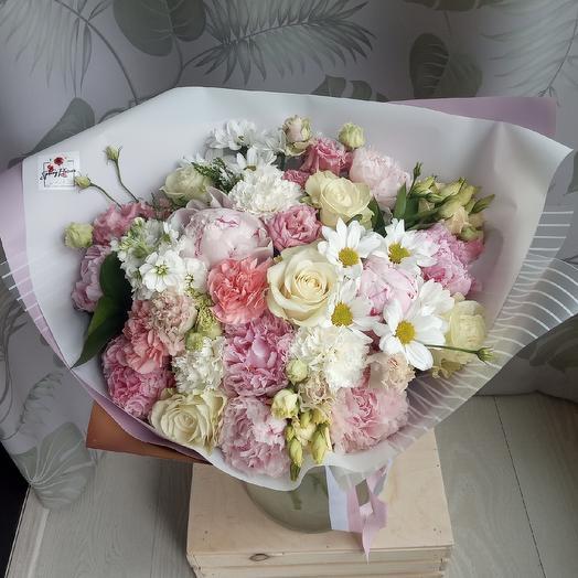 Нежный поцелуй: букеты цветов на заказ Flowwow