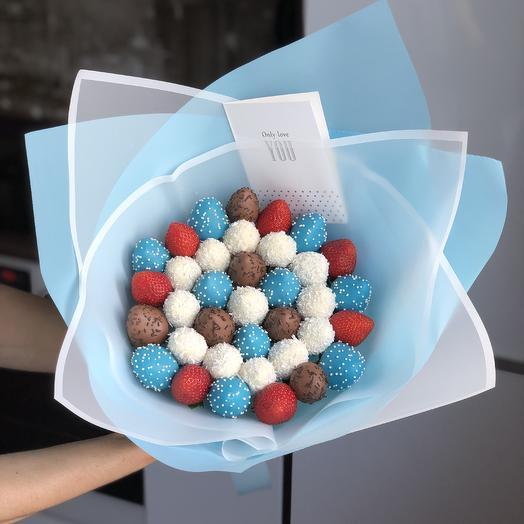 Букет BLUE BERRY: букеты цветов на заказ Flowwow