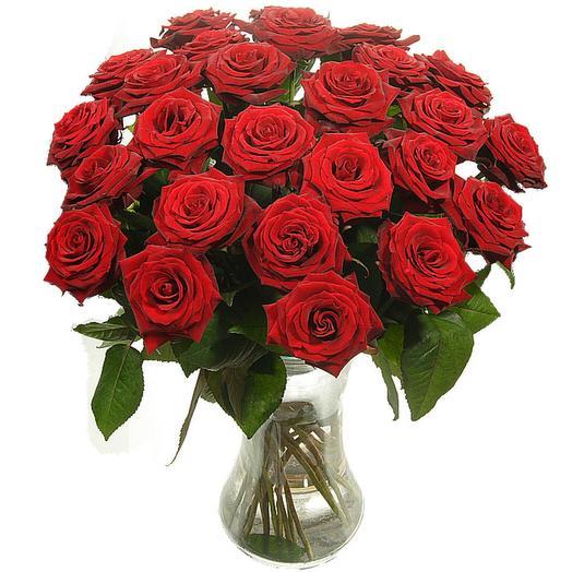 """Букет """"Знак внимания"""" в вазе: букеты цветов на заказ Flowwow"""