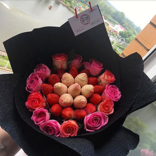 Букет ЭМИЛИ: букеты цветов на заказ Flowwow