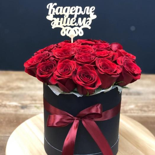 Шляпка Маме: букеты цветов на заказ Flowwow