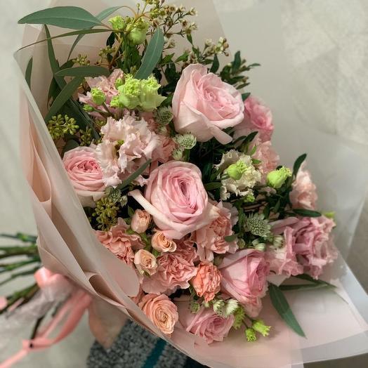 """Букет """"Pink o hara"""": букеты цветов на заказ Flowwow"""
