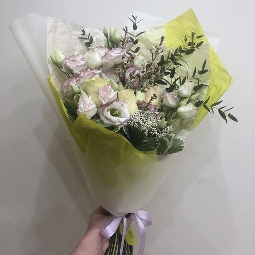 Тренд: букеты цветов на заказ Flowwow