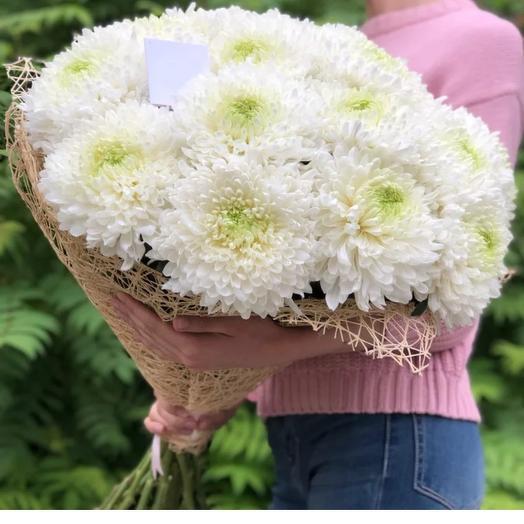 Монобукет из Хризантемы Антонов: букеты цветов на заказ Flowwow