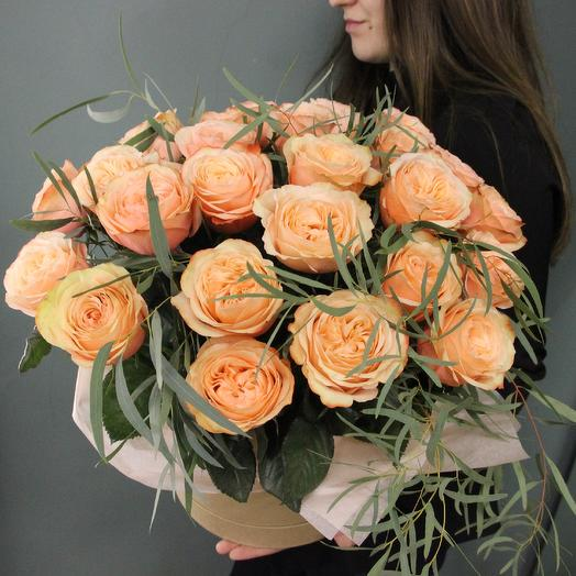 Персиковое веренье: букеты цветов на заказ Flowwow