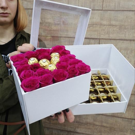 Сюрприз для любимой: букеты цветов на заказ Flowwow