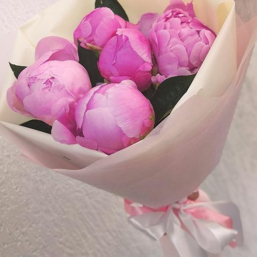 """Пион """"Розовый фламинго"""""""
