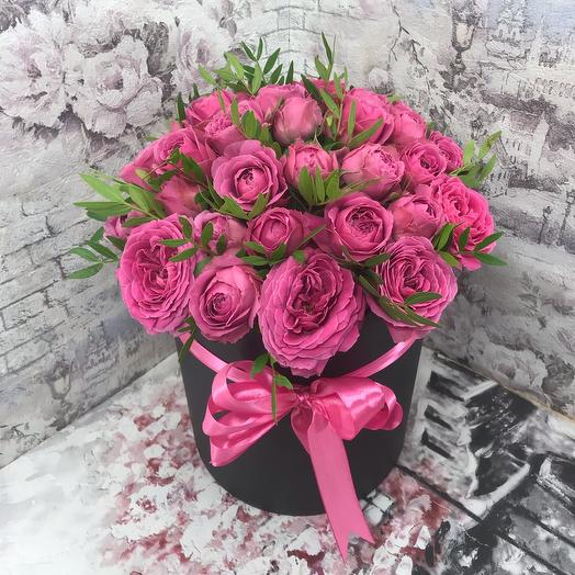 Коробочка Мисти Бабблз: букеты цветов на заказ Flowwow