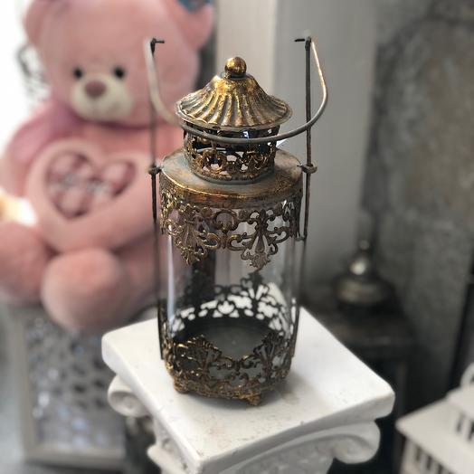 Декоративные металлические фонарики