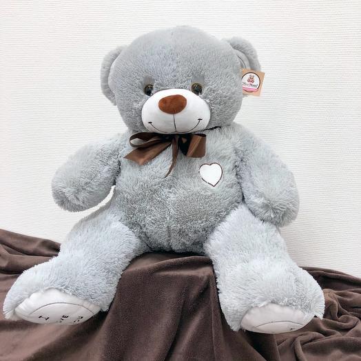 Большой Медведь Тимми 110 см (серый)