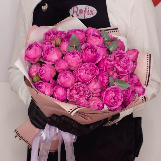 Пионовидные Розы в букете