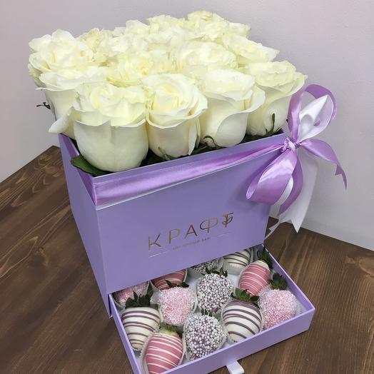 Шкатулка с розами L