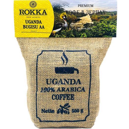 "Кофе в зернах ""Rokka"" Уганда"