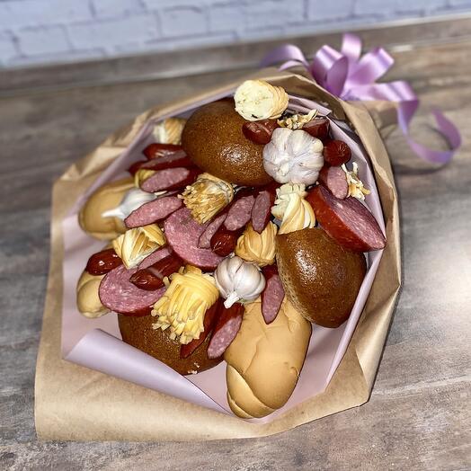 Колбасно-сырный букет