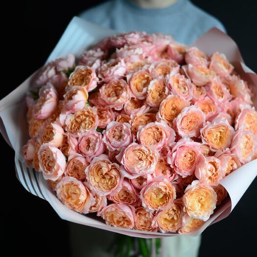Букет роз Джульетта (крупный)