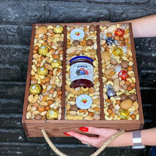 Ящик «Ореховое наслаждение»
