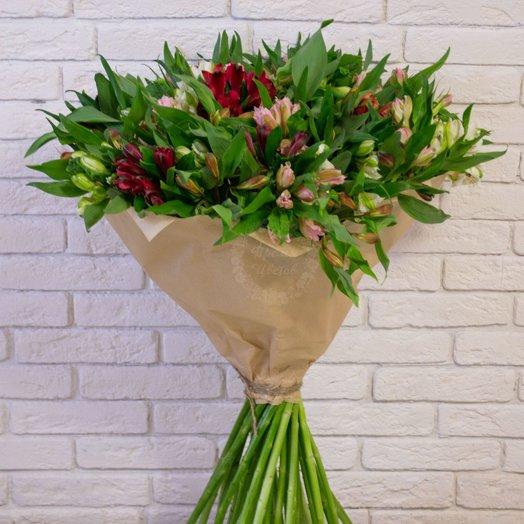 Альстромерия микс 35шт: букеты цветов на заказ Flowwow