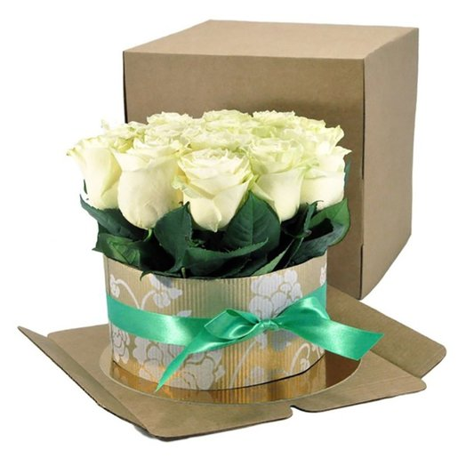Торт из белых роз: букеты цветов на заказ Flowwow