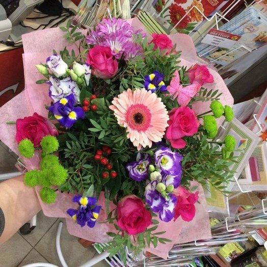 Палитра счастья: букеты цветов на заказ Flowwow
