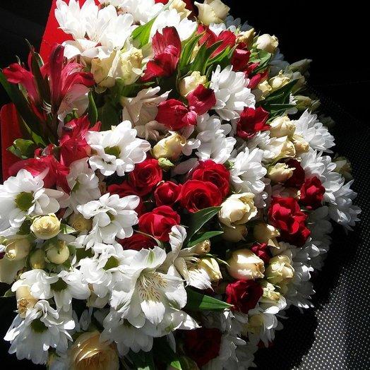 Маргаритка: букеты цветов на заказ Flowwow