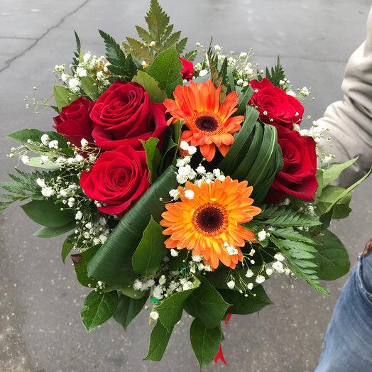 Евро букет : букеты цветов на заказ Flowwow