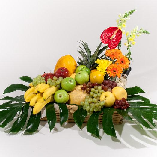Fruit Basket Tequila: flowers to order Flowwow