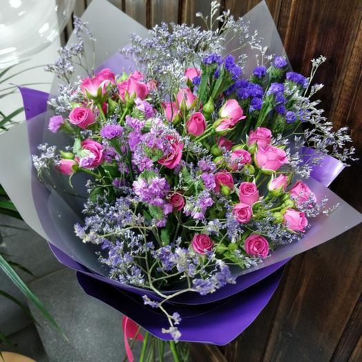 Цветное настроение: букеты цветов на заказ Flowwow