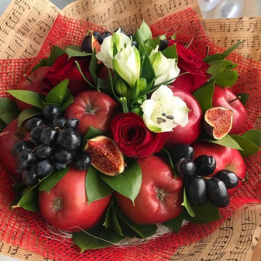 Фруктовый букет «красота»: букеты цветов на заказ Flowwow
