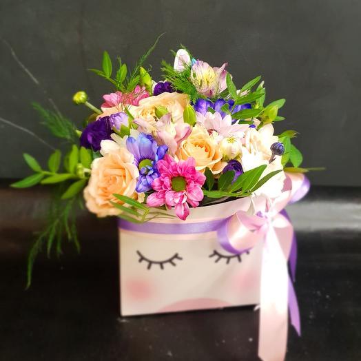 Единорожек: букеты цветов на заказ Flowwow