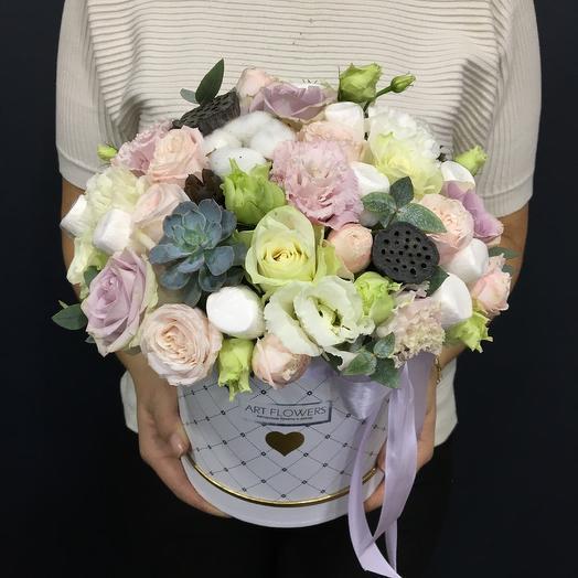 Сладкая коробочка: букеты цветов на заказ Flowwow