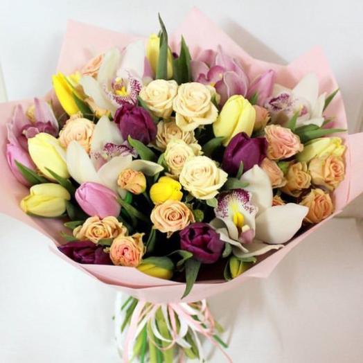 """""""Марсель"""": букеты цветов на заказ Flowwow"""