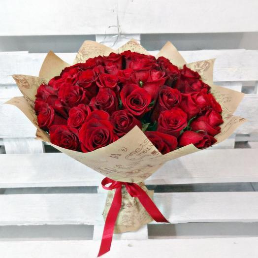 Букет 134: букеты цветов на заказ Flowwow