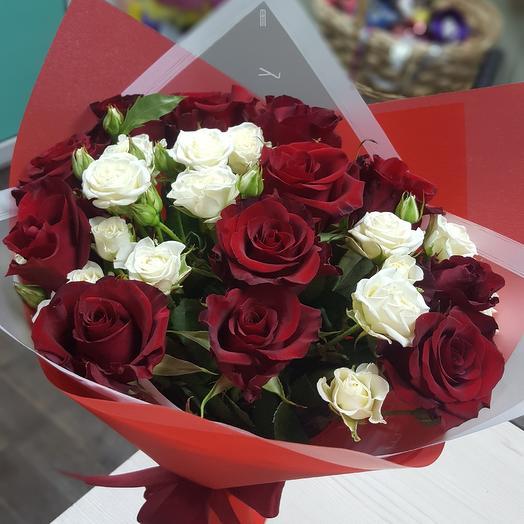 """""""Вечная любовь"""": букеты цветов на заказ Flowwow"""
