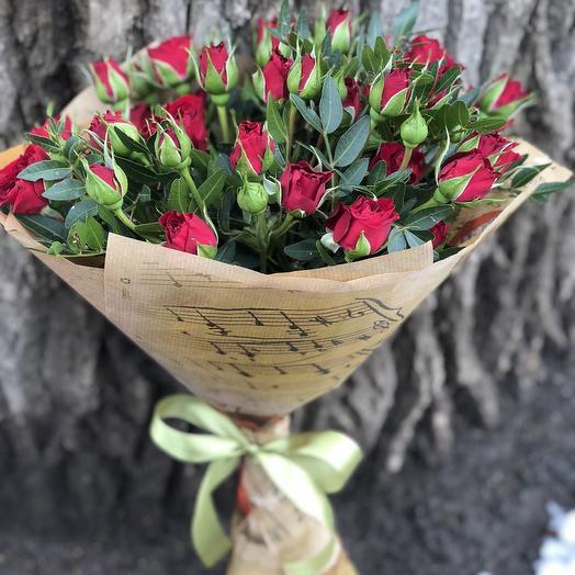 """Букет """"Музыка чувств"""": букеты цветов на заказ Flowwow"""