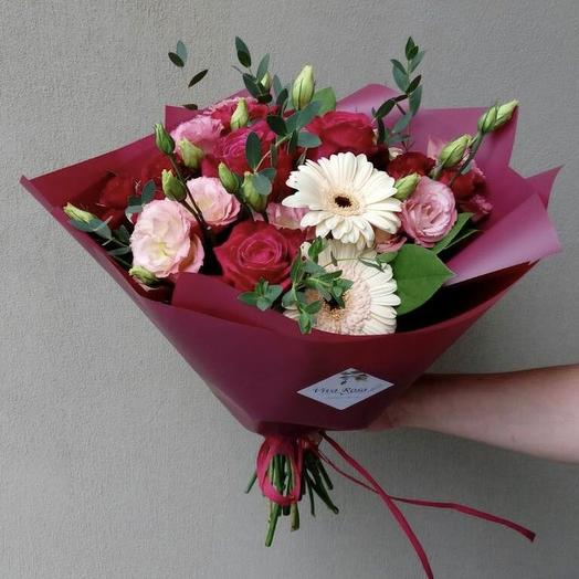 Пламенный привет: букеты цветов на заказ Flowwow