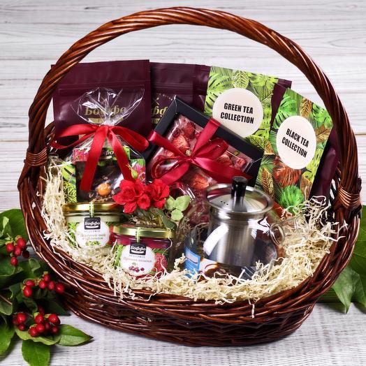 Чайный набор: букеты цветов на заказ Flowwow